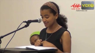 Amazing Poems by Young Ethiopian Veronica Temesgen Abebe – by AddisVideo