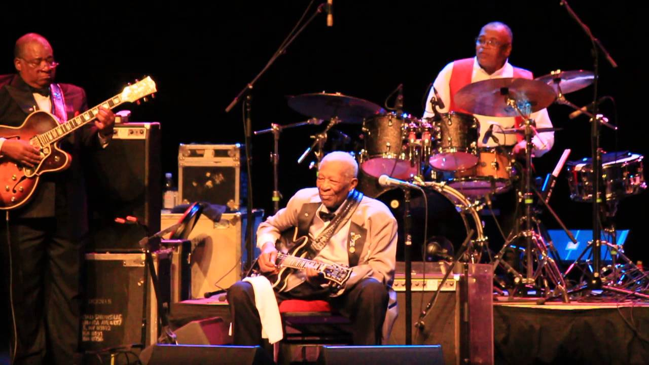 Evening with B. B King- Amazing Performance at the age of 89