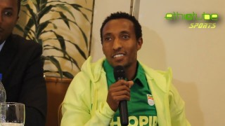Watch Ethiopia – Athlete Gelete Burka and Mohammed Aman talk about their preparedness for Rio Olympic