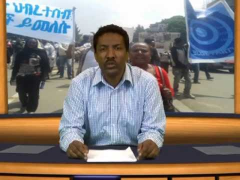 ESAT Special Report on the Protest rally semayawi Party June 02, 2013 Ethiopia