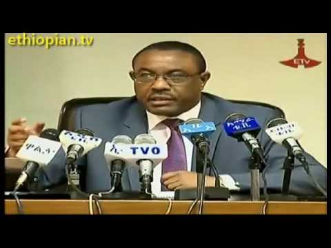 Ethiopian PM Hailemariam Desalegn : Press Conference – Part 2 of 2